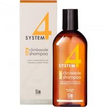 Sim SENSITIVE SYSTEM 4 Climbazole Shampoo 2 - Шампунь №2 для сухих поврежденных и окрашенных волос 215мл