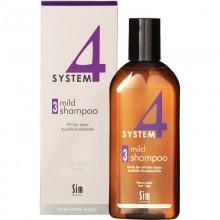 Sim SENSITIVE SYSTEM 4 Mild Shampoo 3 - Шампунь №3 для профилактического применения для всех типов волос 215мл