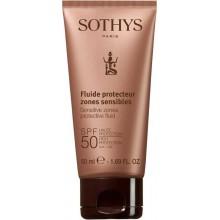 SOTHYS SUN CARE Sensitive zones protective fluid SPF50 - Флюид для лица и чувствительных зон тела СЗФ50, 50мл