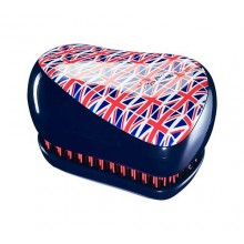 TANGLE TEEZER Compact Cool Britannia - Щетка для волос 1шт