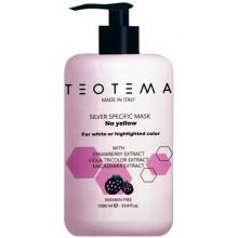 TEOTEMA SILVER SPECIFIC Mask - Маска тонирующая Серебрянная 1000мл