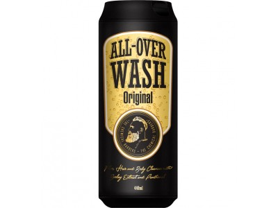 THE CHEMICAL BARBERS ALL-OVER-WASH ORIGINAL - Очищающее средство для лица, тела и волос 440мл