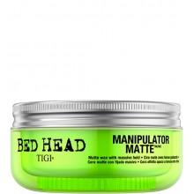 TIGI Bed Head MANIPULATOR MATTE™ Matte Wax with Massive Hold - Матовая мастика для волос сильной фиксации 57,5гр