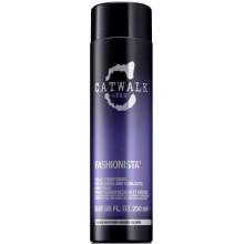 TIGI Catwalk FASHIONISTA BLONDE Conditioner - Кондиционер для коррекции цвета ОСВЕТЛЁННЫХ волос 250мл