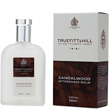 TRUEFITT & HILL AFTERSHAVE BALM Sandalwood - Бальзам после бритья SANDALWOOD 100мл
