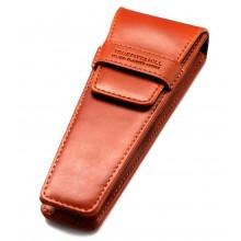 TRUEFITT & HILL RAZORS Leather Razor Pouch BROWN - Кожаный чехол для бритвы КОРИЧНЕВЫЙ 1шт